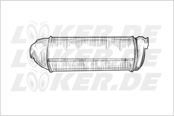 Catalytic converter BMW 03 - L Class