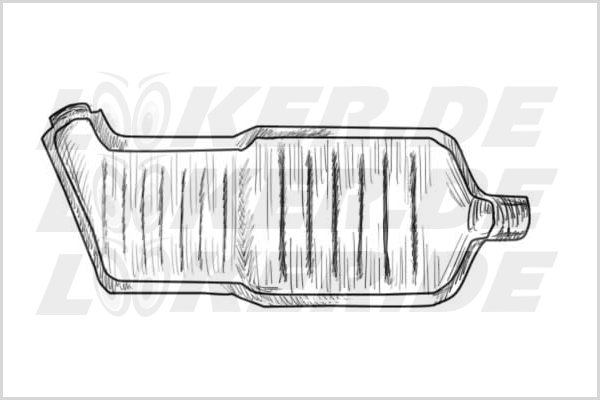 Catalytic converter BMW 12 - L Class