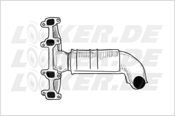 Catalytic converter Ford 04 - S Class