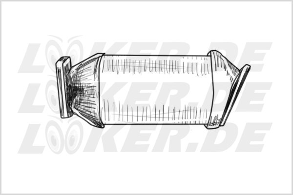 Catalytic converter Ford 05 - XL Class