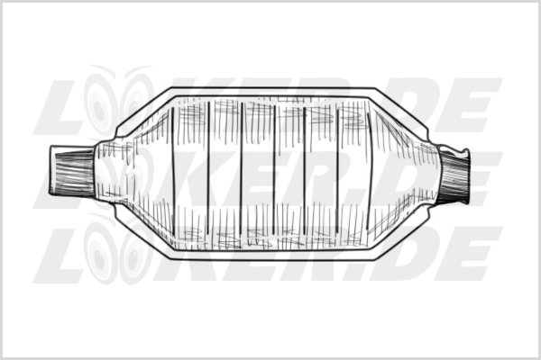 Catalytic converter Ford 06 - M Class