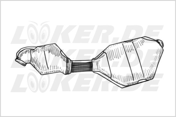 Catalytic converter Ford 11 - M Class