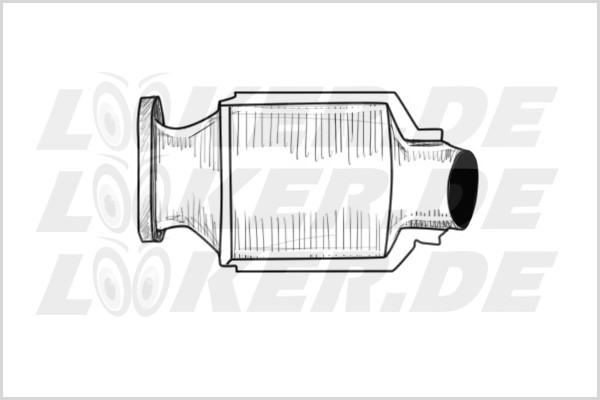 Catalytic converter Ford 13 - L Class