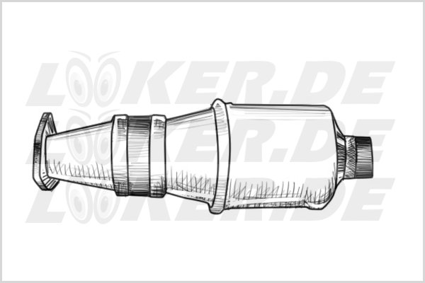 Catalytic converter Iveco 10 - 3XL Class