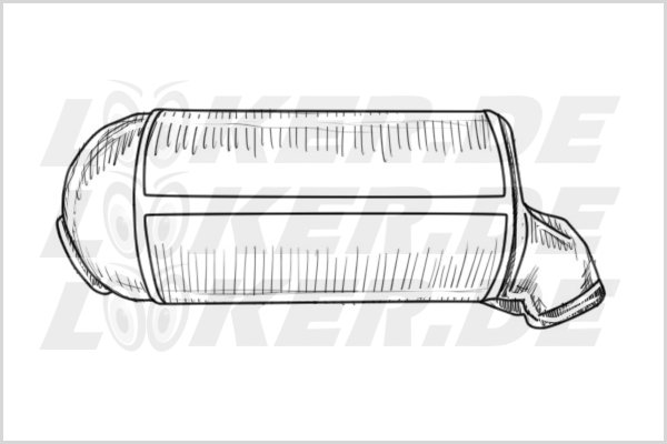 Catalytic converter Landrover 20 - L Class