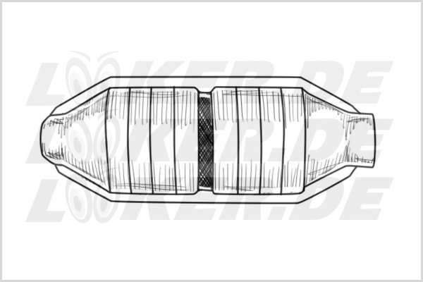 Catalytic converter Landrover 50 - L Class
