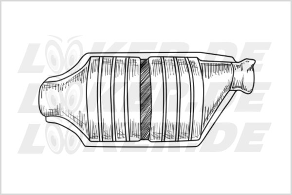 Catalytic converter Landrover 60 - L Class