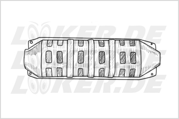 Catalytic converter Mitsubishi 01 - 3XL Class