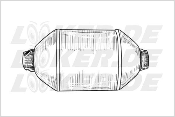 Catalytic converter Rover 20 - M Class