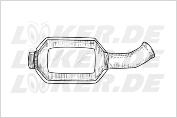 Catalytic converter Saab 10 - S Class