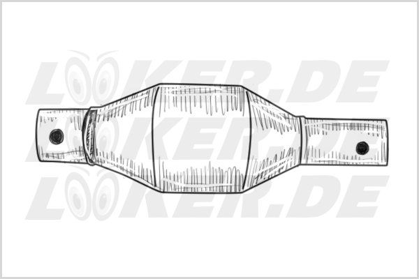Catalytic converter Toyota 12 - L Class