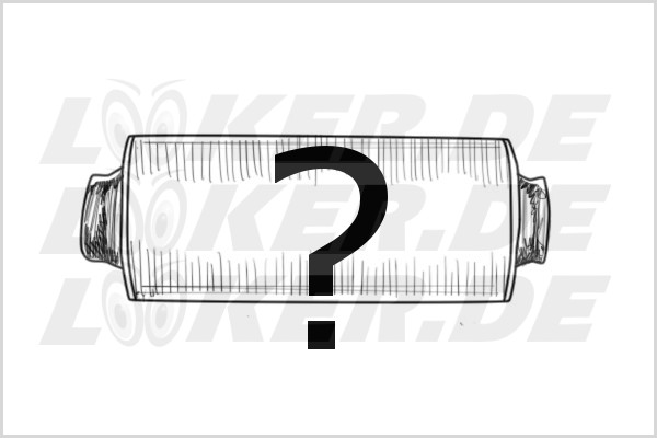 Unknown catalytic converter incl. free analysis