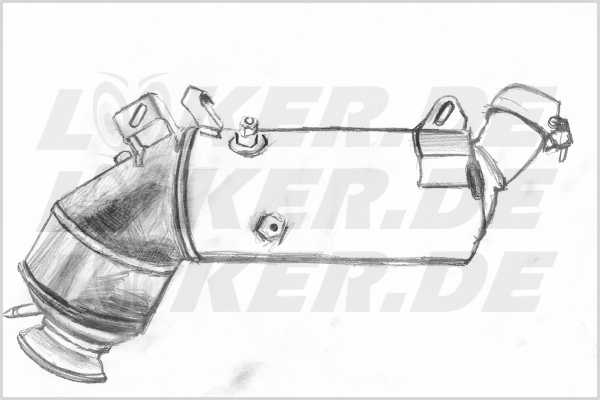 Diesel particulate filter (DPF) Mercedes 16 - 5XL Class